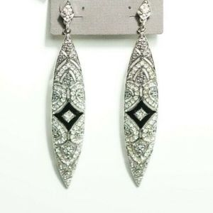 CHICO'S Brena Crystal Earrings - USA